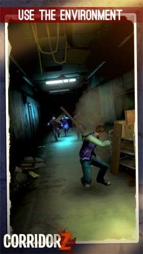 Corridor Z The Zombie Runner