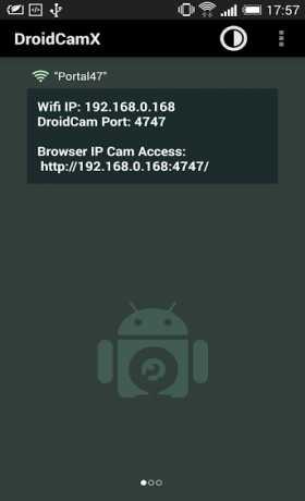 DroidCamX Wireless Webcam Pro
