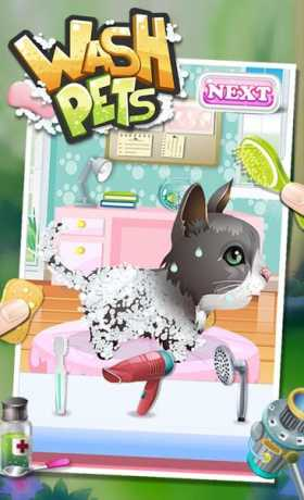 Wash Pets - kids games