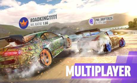 Trucchi Drift Max Pro - Car Drifting Game 1.5.6 Apk + Mod (Money illimitato) + Dati per Android