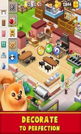 Food Street - Restaurant Management & Cooking Game