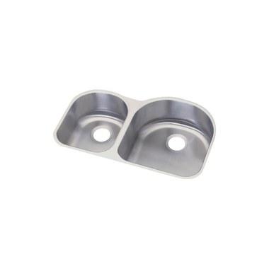 elkay d233194 dayton stainless steel double bowl sink bathroom sinks plumbing fixtures