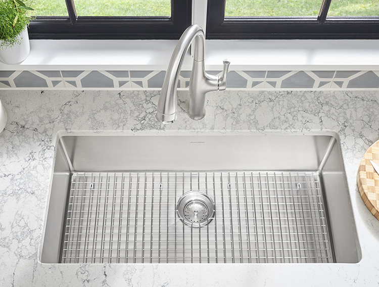 how to choose a kitchen sink grid