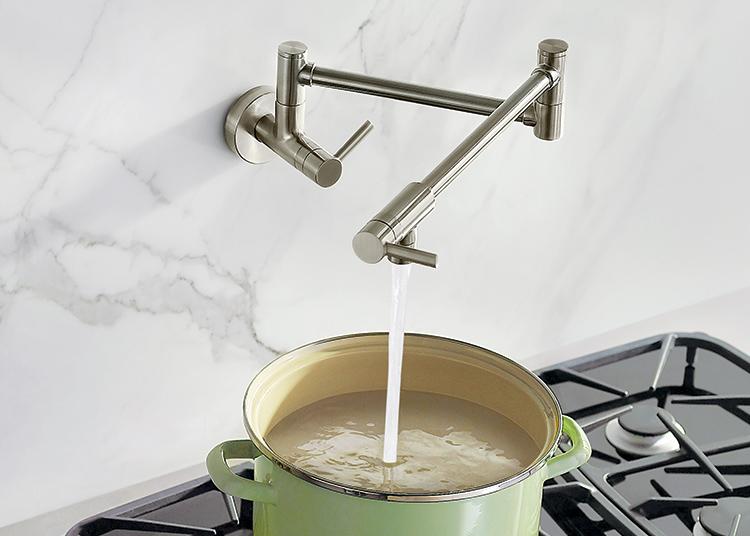 how to choose your pot filler faucet