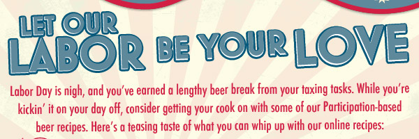Labor Day Beer Recipes