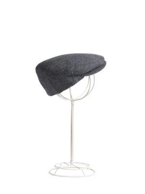 Lord Herringbone Ivy Wool Cap