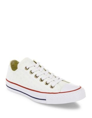 Chuck Taylor All-Star Star-Embroidered Low-Top Sneakers
