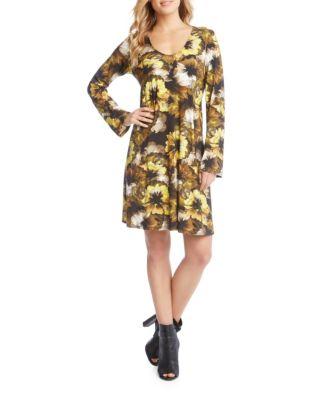 Midnight Printed Taylor Mini Dress