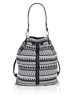 Elizabeth and James - Cynnie Sling Woven Cotton Convertible Backpack