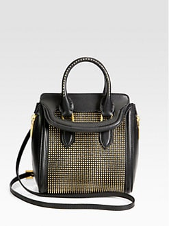 Alexander McQueen - Heroine Mini Studded Crossbody Bag