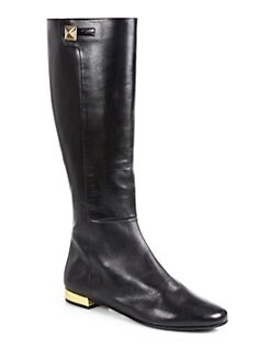 Kate Spade New York - Oliver Leather Knee-High Boots