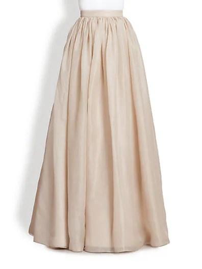 Abella Silk Chiffon Ball Gown Skirt