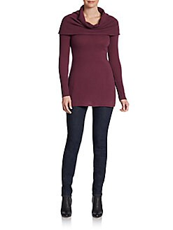 Cashmere Cowlneck Tunic