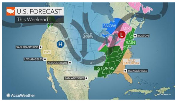 us forecast tgiving 004
