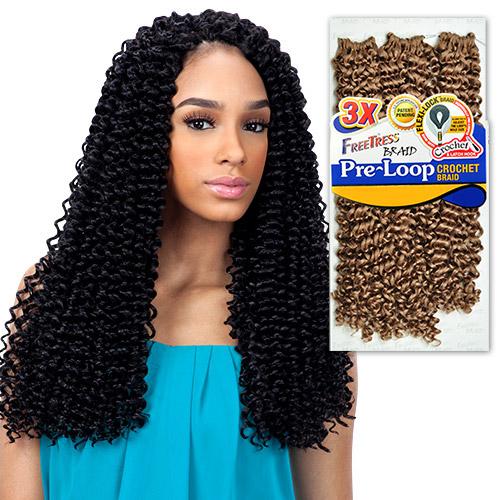 Pre Looped Crochet Braiding Hair