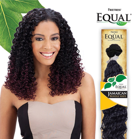 freetress equal synthetic hair weave jamaican bundle wave samsbeauty