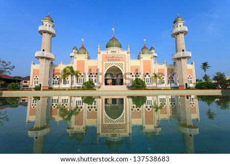 Pattani Mosque - stock photo