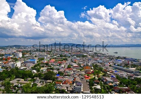Songkhla Town - stock photo