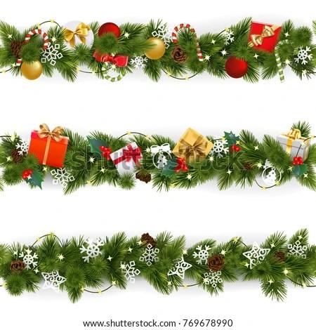 40 Christmas Borders Vectors Download Free Vector Art
