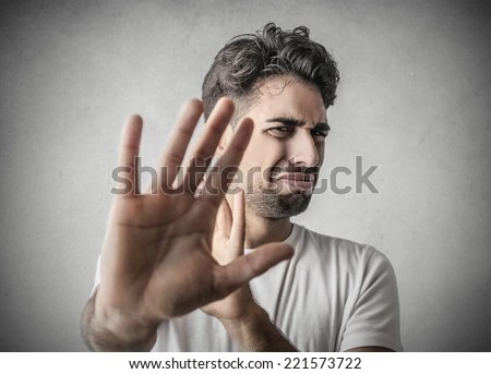 Disgusted Man Stock Photo 221573722 : Shutterstock