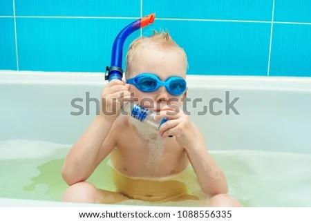 Kids Boys Bath Images