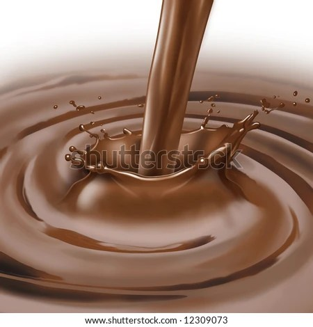 stock photo : Chocolate splash
