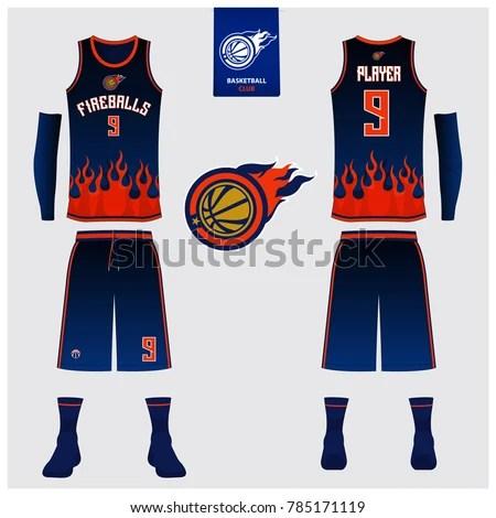 Download 29+ Basketball Kit W V-Neck Tank Top Mockup Front View ...
