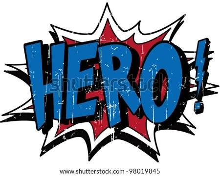 stock vector : hero