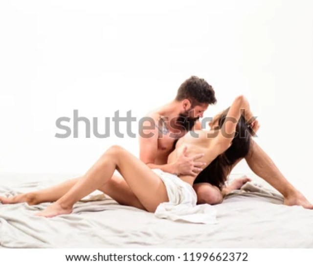 Passionate Lover Touch Breasts Of Girlfriend Passionate Foreplay Tease Female Love And Passion Concept