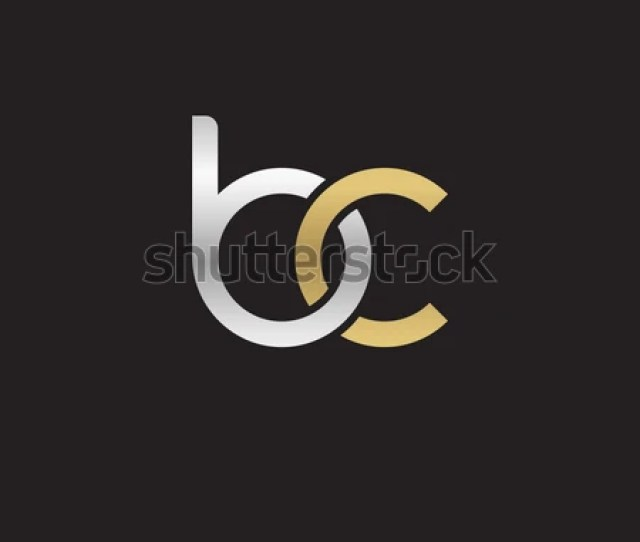 Vector Images Illustrations And Cliparts Initial Letters Bc Round Linked Chain Shape Lowercase Logo Modern Design Silver Gold Hqvectors Com