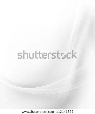 white abstract background - stock photo