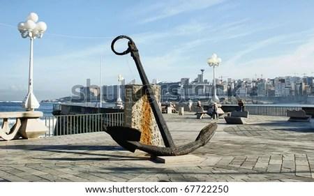 Anchor in Orzan beach