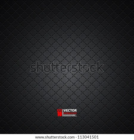 eps10 vector carbon metallic seamless pattern design background texture - stock vector