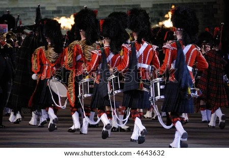 Edinburgh military tattoo August