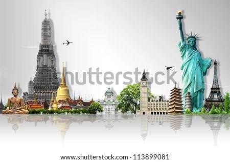 Travel the world - stock photo