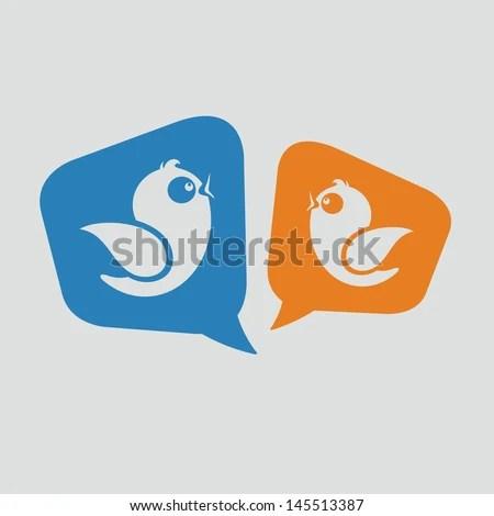 Social Media Messages - stock vector