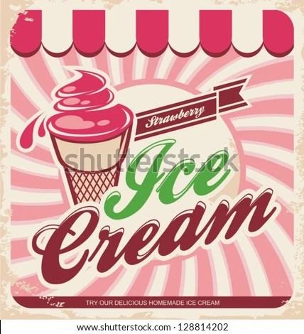 Poster do filme Strawberry Ice Cream