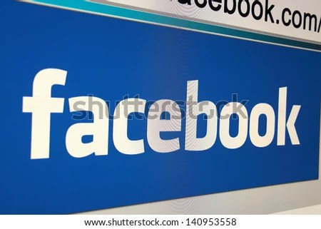 WARSAW, POLAND - MAY 22: Facebook has over 10 million Polish users. May 22, 2013 in Warsaw, Poland. - stock photo