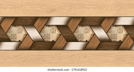 https www shutterstock com image illustration 3d elevation wall tiles design wallpaper 1791418922
