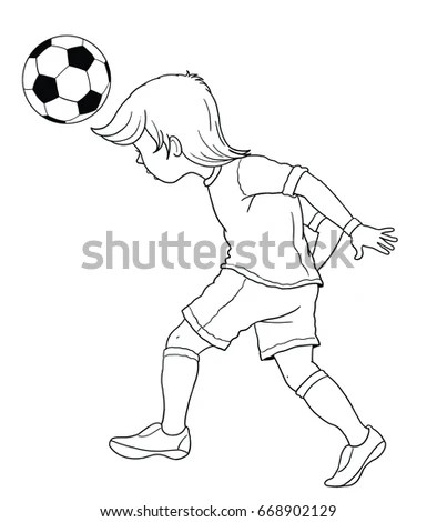 soccer coloring page # 40