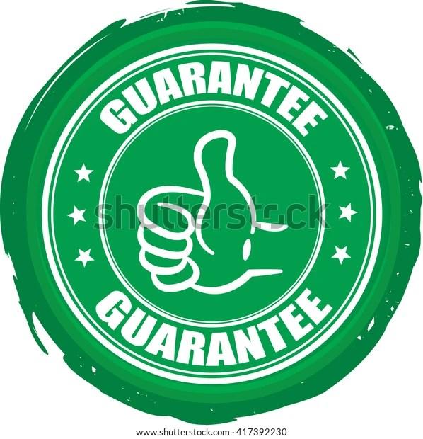 Guarantee Stamp 스톡 일러스트 417392230