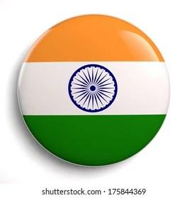 Indian Flag Badge Images Stock Photos Vectors Shutterstock