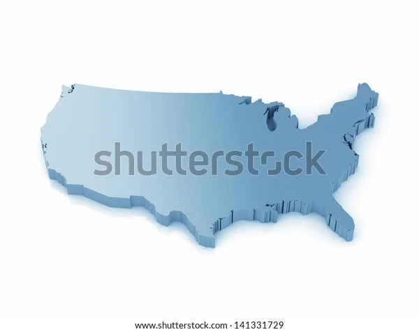 5:44 if you actually want to skip the 9 min video and get to the answer. Map Usa 3d High Resolution Render Stock Illustration 141331729