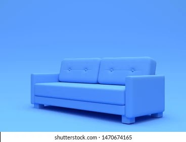 https www shutterstock com image illustration modern sofa couch isolated on pastel 1470674165