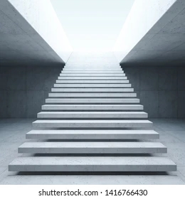 Staircase Images Stock Photos Vectors Shutterstock | Concrete Ladder Design For Home | Low Budget | Beautiful | Construction | Small Space | Simple
