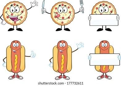 Hot Dog Clip Art Images Stock Photos Vectors Shutterstock