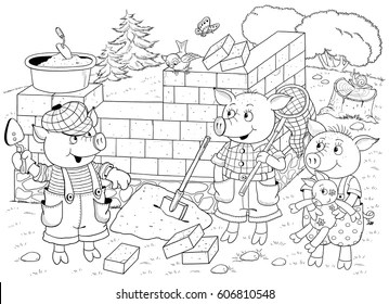 Fairy Tale Coloring Page Images Stock Photos Vectors Shutterstock