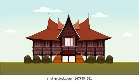 Rumah Gadang High Res Stock Images Shutterstock