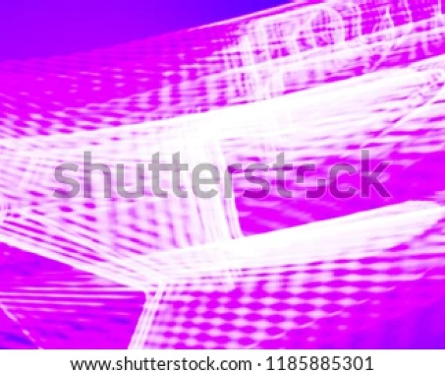 Violet Background With Pink Neon Light Motion Concept Of Abstract Illustration Wallpaper For Clubbing Poster
