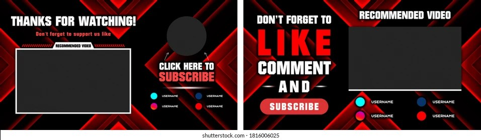 All of them are free to use and can be. Youtube Banner Template Images Stock Photos Vectors Shutterstock